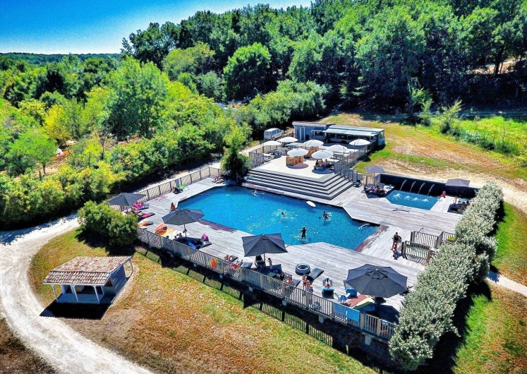 Location de vacances - Camping à Saint-Étienne-de-Villeréal