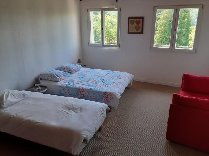 Location de vacances - Appartement à Chastreix - CHAMBRE 1