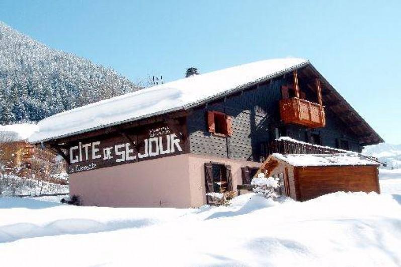 Location de vacances - Chalet à La Chapelle-d'Abondance