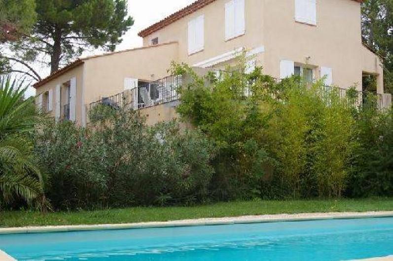 Location Villa Avec Piscine à La Roquebrussanne Dans Le Var - Location villa dans le var avec piscine