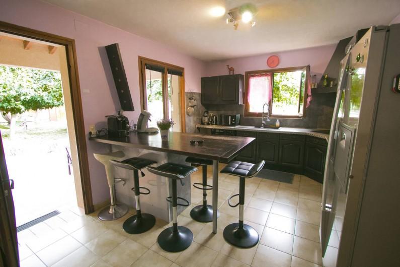 Location de vacances - Villa à Camélas - coin barbecue