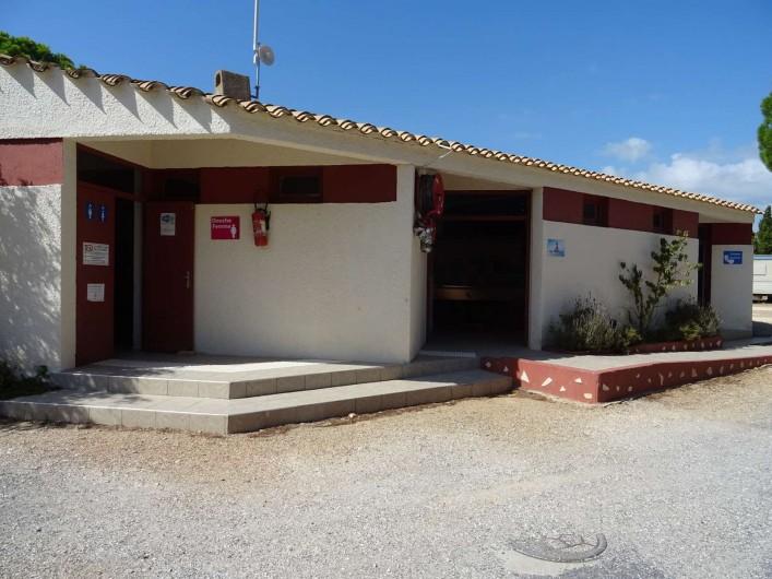 Location de vacances - Bungalow - Mobilhome à Salses-le-Château - Sanitaires