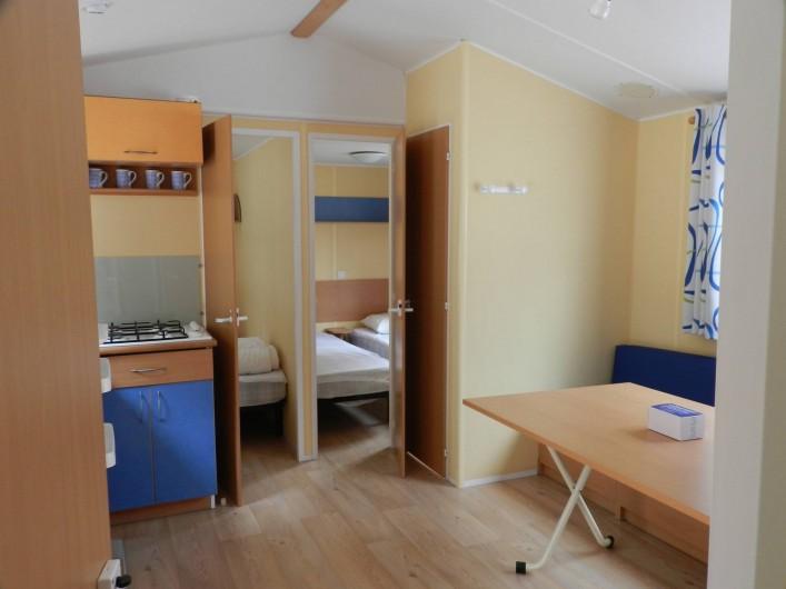 Location de vacances - Bungalow - Mobilhome à Salses-le-Château - Mobil Home 26
