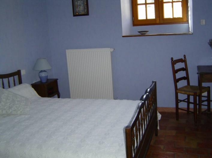 Location de vacances - Chambre d'hôtes à Chassagnes - Chambre Lavande