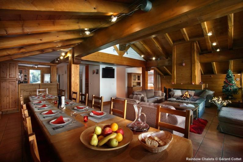Location de vacances - Chalet à Les Menuires - Pièce à vivre