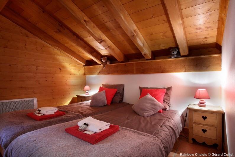 Location de vacances - Chalet à Les Menuires - Chambre simple
