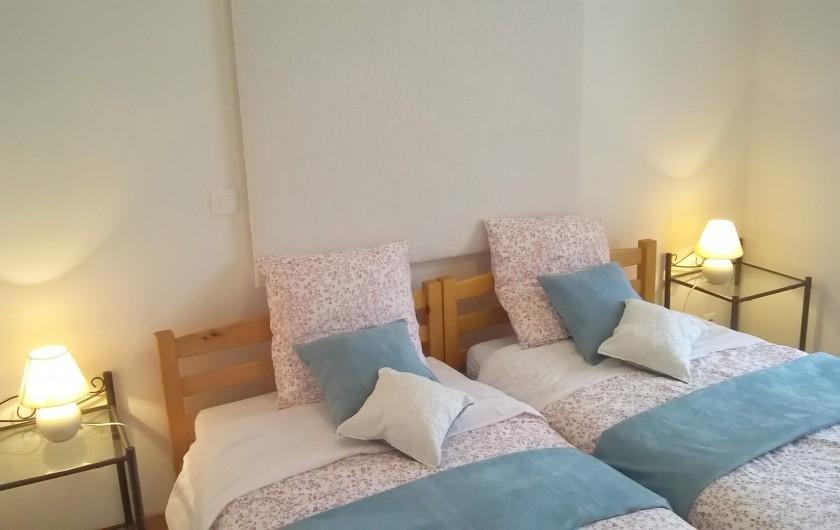 Location de vacances - Chambre d'hôtes à Tauves - Chambre Angélite