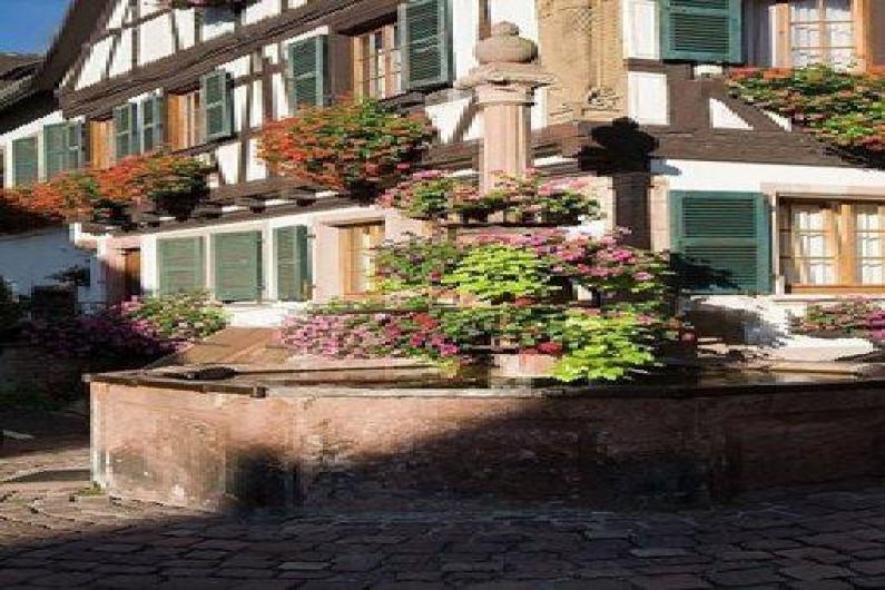 Location de vacances - Maison - Villa à Saint-Hippolyte - fontaine de la mairie