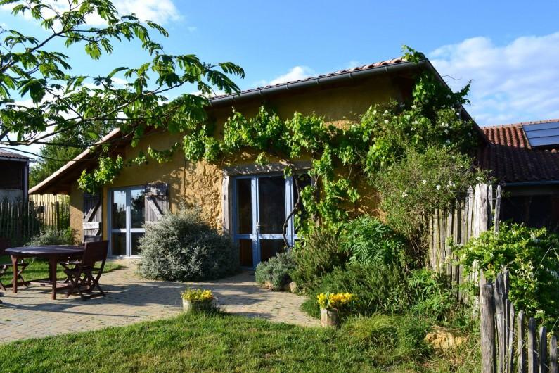 """Location de vacances - Gîte à Lamaguère - Notre gîte écologique """"Laurier""""."""