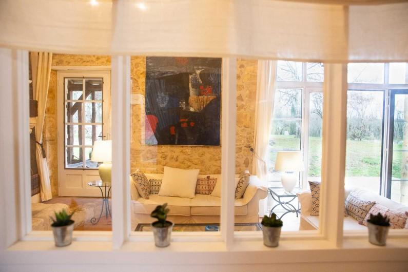 Location de vacances - Gîte à Issac - sur la terrasse