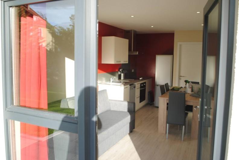 Location de vacances - Appartement à Colmar - appartement rez-de-chaussée