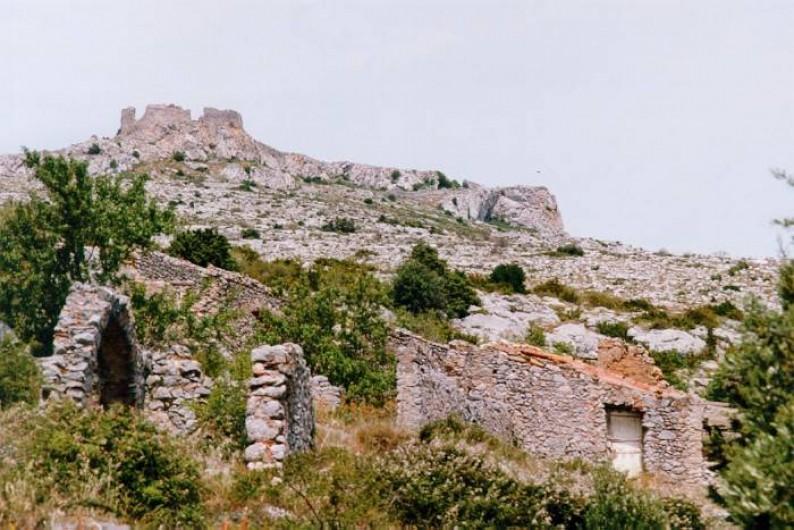 Location de vacances - Maison - Villa à Opoul-Périllos - château d'Opoul