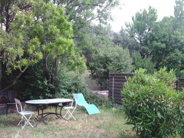 Location de vacances - Maison - Villa à Opoul-Périllos - jardin