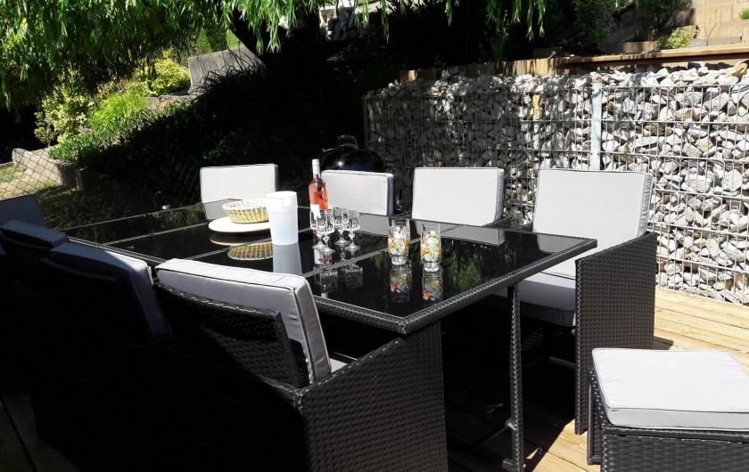 Location de vacances - Maison - Villa à Munster - Terrasse