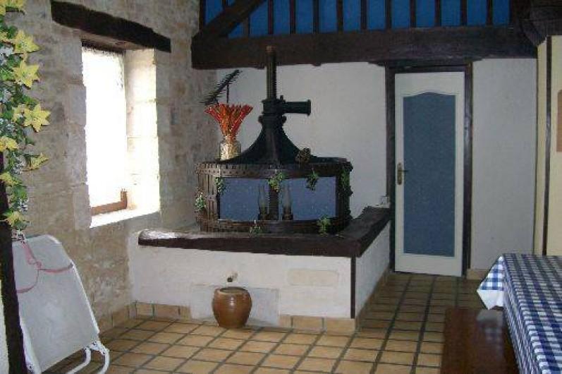 Location de vacances - Gîte à Saint-Pantaly-d'Ans - Ancien pressoir à vin et à cidre