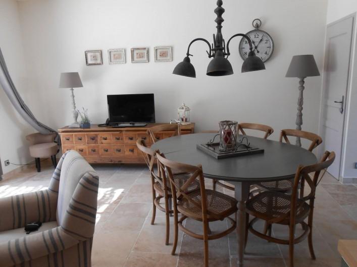 Location de vacances - Villa à La Redorte - Salle à manger