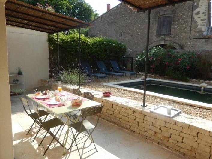 Location de vacances - Villa à La Redorte - Terrasse et farnienté !