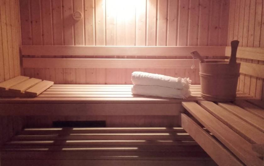 Location de vacances - Appartement à Bénodet - Sauna ouvert et offert toute l'année