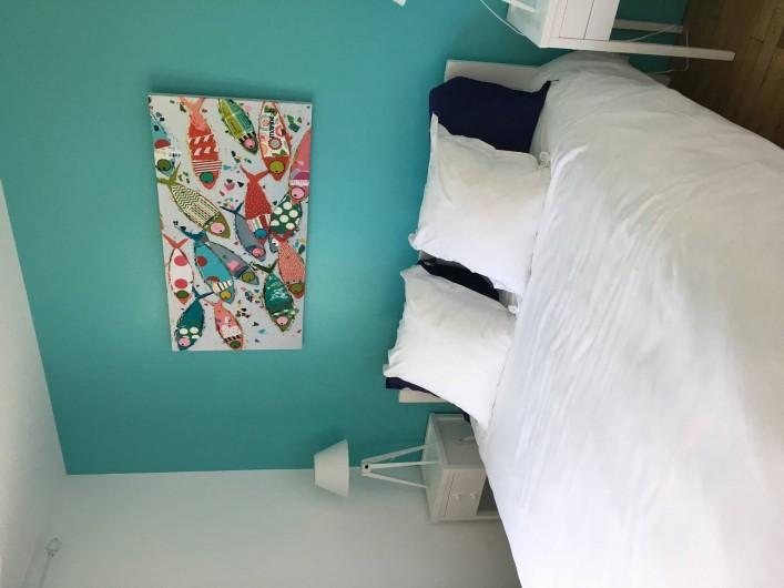 Location de vacances - Appartement à Bénodet - Chambre appartement 6 personnes avec terrasse privée Le Génois