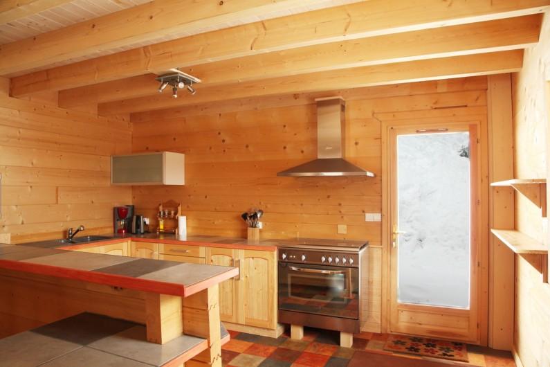 Location de vacances - Chalet à Le Haut-Bréda - Cuisine