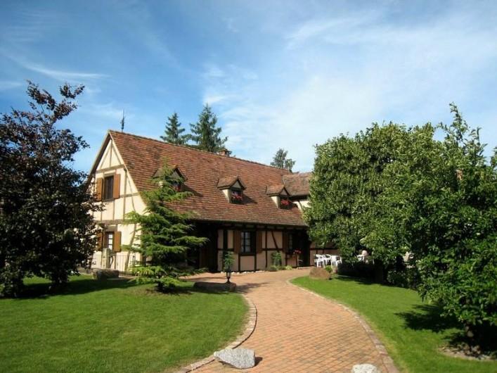 Location de vacances - Villa à Jebsheim - Venez découvrir un havre de paix.