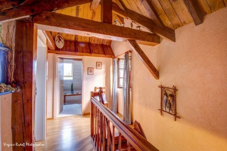 Location de vacances - Villa à Jebsheim - Le charme d'une maison Alsacienne a colombage.