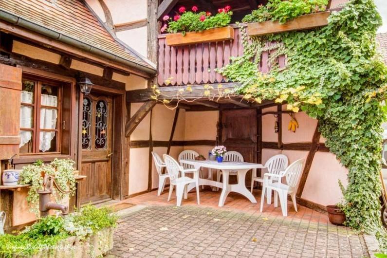 Location de vacances - Villa à Jebsheim - Poussez la porte pour apprécier le confort.