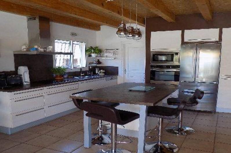 Location de vacances - Villa à Pérols - cuisine