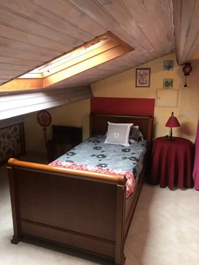Location de vacances - Villa à Anthéor - Chambre 4 côté est communicante.