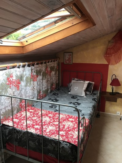 Location de vacances - Villa à Anthéor - Chambre 4 côté ouest communicante.