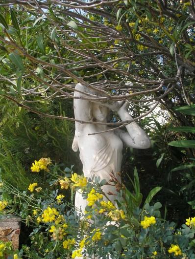 Location de vacances - Villa à Anthéor - Chambre n°1 exposition ouest, vue sur le jardin