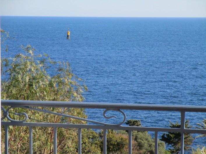 Location de vacances - Villa à Anthéor - Vue de la terrasse de la villa