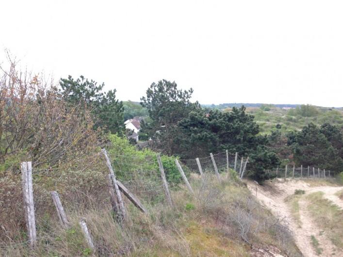 Location de vacances - Villa à Le Touquet-Paris-Plage - sentier qui mène à la mer