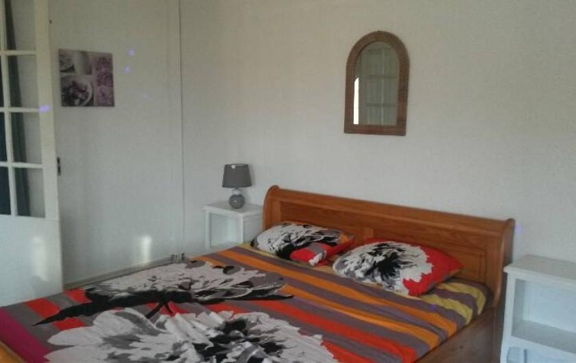 Location de vacances - Appartement à Sainte-Maxime - chambre1