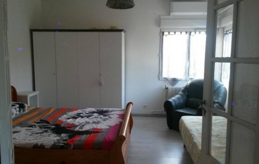 Location de vacances - Appartement à Sainte-Maxime - chambre 1