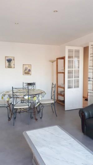 Location de vacances - Appartement à Sainte-Maxime - séjour