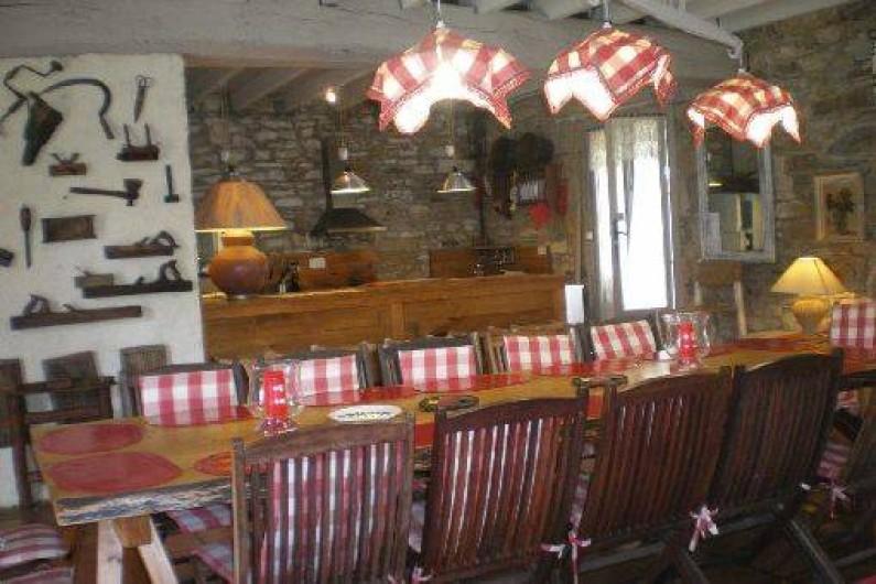 Location de vacances - Gîte à Haut-de-Bosdarros - Repas