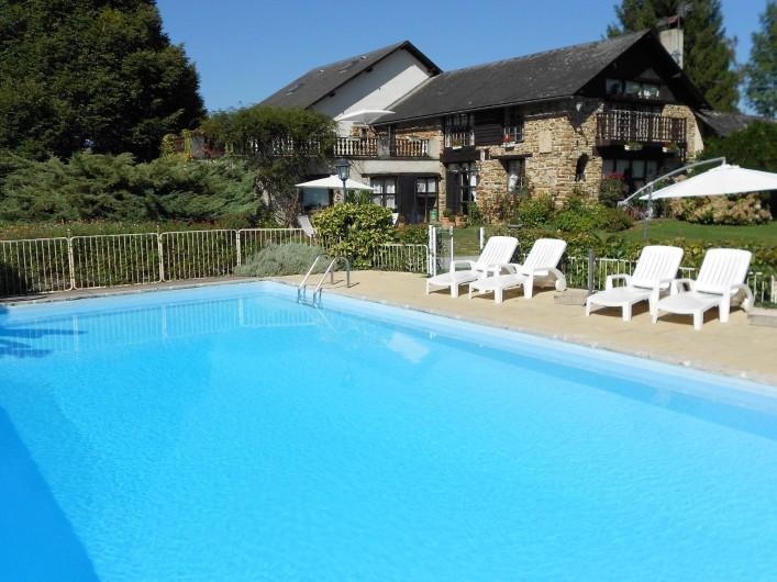 Location de vacances - Gîte à Haut-de-Bosdarros - la Ferme de Loutarès