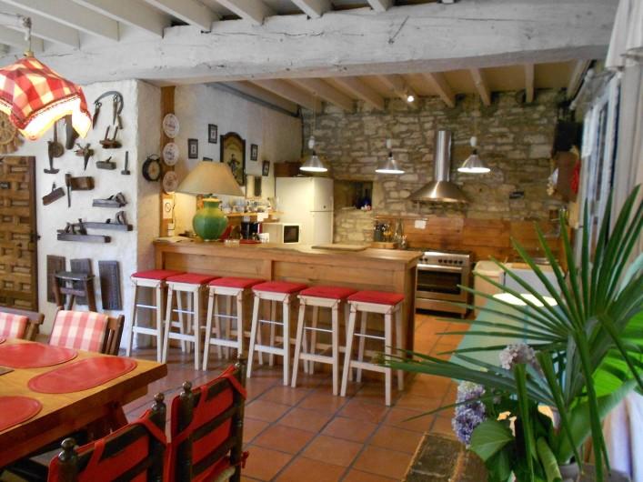 Location de vacances - Gîte à Haut-de-Bosdarros - Cuisine