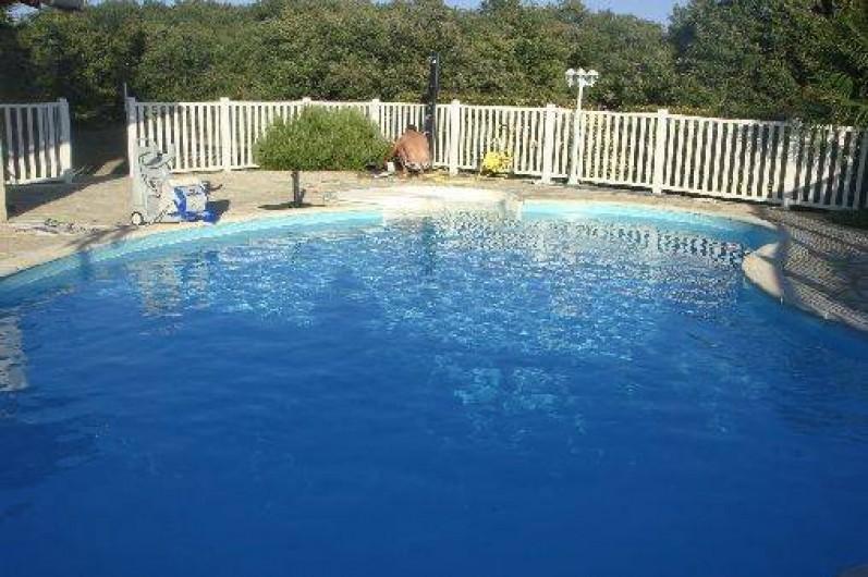 Location de vacances - Maison - Villa à Ornézan - piscine clôturée