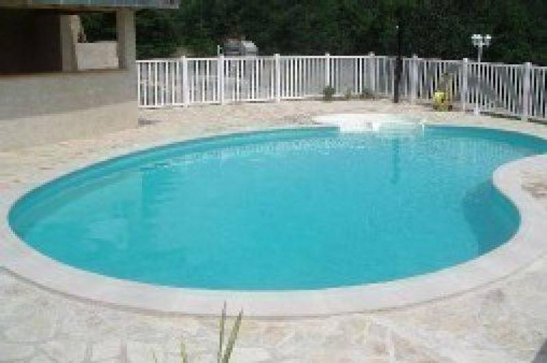 Location de vacances - Maison - Villa à Ornézan - vue Est piscine
