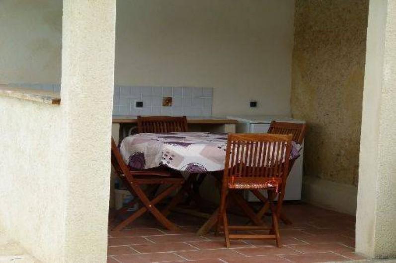 Location de vacances - Maison - Villa à Ornézan - coin repos ou repas
