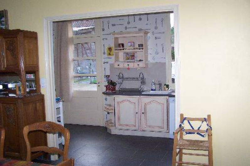 Location de vacances - Gîte à Miannay - Cuisine