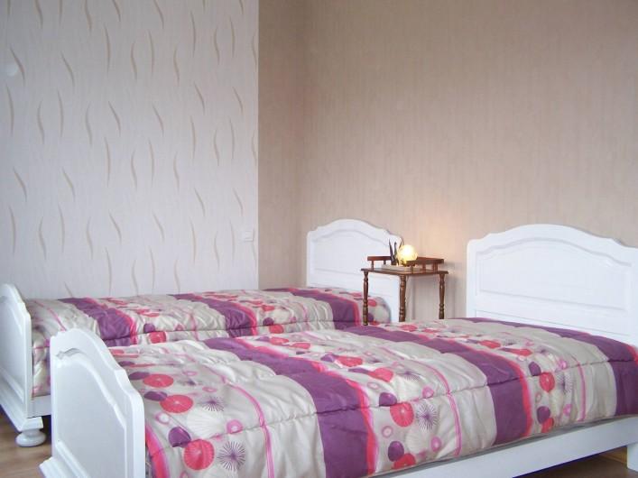 Location de vacances - Gîte à Miannay - Chambre 2