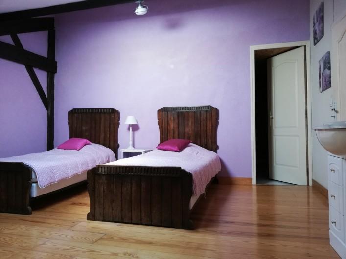 Location de vacances - Gîte à Beylongue - chambre 1er étage