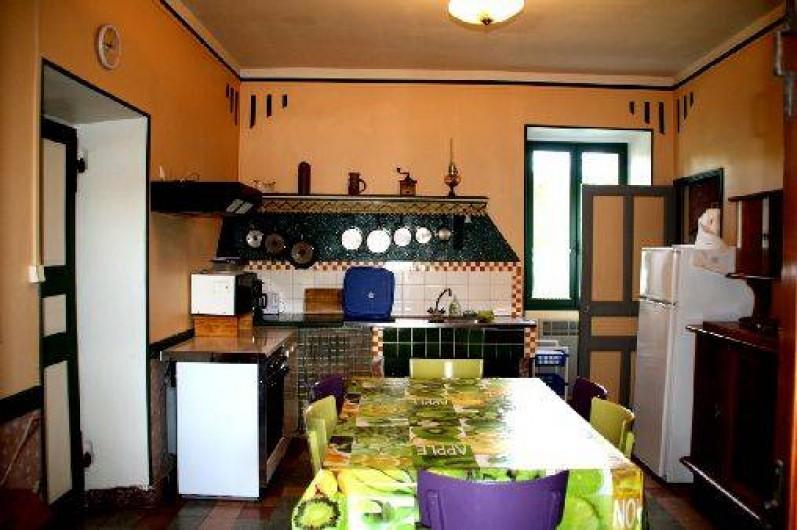 Location de vacances - Gîte à Saint-Paul-le-Jeune - Gite La Fontaine  La cuisine