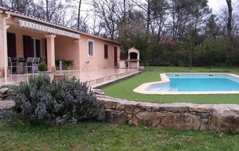 Location de vacances - Villa à Tourrettes