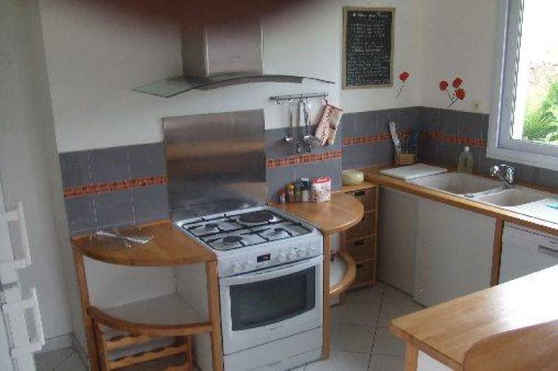 Location de vacances - Villa à Perros-Guirec - Cuisine