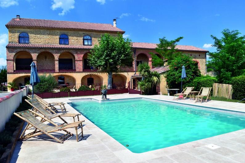 Location de vacances - Hôtel - Auberge à Saint-Christol-lès-Alès - Le Mas