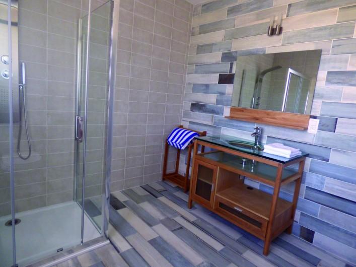 Location de vacances - Hôtel - Auberge à Saint-Christol-lès-Alès - Salle de bain Tortue